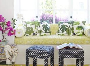 绿色基调,如沐春风,飘窗,地台,田园,小资,春色,绿色,