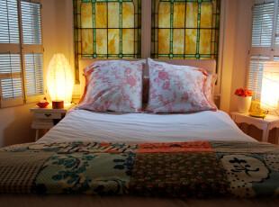 ,卧室,灯具,窗帘,日式,田园,春色,