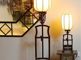 中式古典灯具和江南水乡的窗户纸展示了中国古典美,灯具,中式,黄色,原木色,