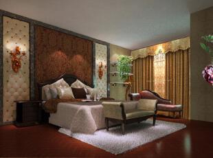 采用古典而高雅的风格,通过古典的线条和现代水刀切割方法,对欧式风格进行新的时代诠释,展现空间的立体感,用古典的花纹墙纸展现棕红色家具的精致,充分表现出主人贵族般的生活方式。,欧式,
