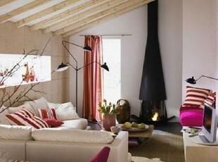 ,阁楼,日式,紫色,白色,