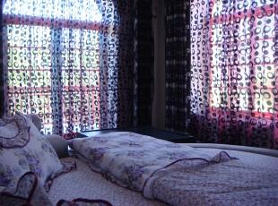 日式风格,卧室,日式,紫色,