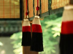 日式风格,窗帘,日式,红色,黑白,
