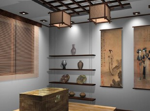 日式风格,客厅,墙面,灯具,日式,黑白,