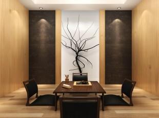 日式风格,客厅,日式,传统,原木色,