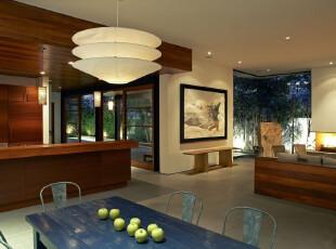 日式风格,餐厅,墙面,灯具,日式,现代,原木色,