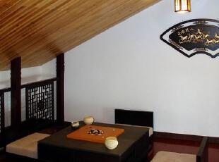 日式风格,阁楼,灯具,日式,黑白,