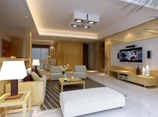 日式风格,客厅,日式,现代,黄色,