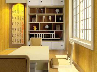 日式风格,餐厅,日式,现代,黄色,