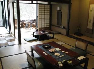日式风格,客厅,日式,原木色,黄色,