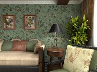 欧式装修,客厅,墙面,灯具,欧式,绿色,