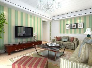 欧式装修,墙纸,客厅,欧式,绿色,