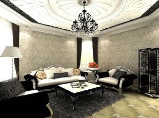 欧式装修,墙面,欧式,黑白,