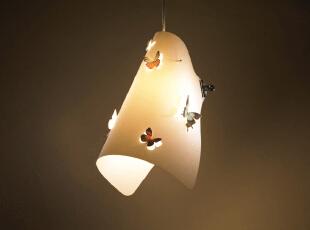 ,灯具,现代,简约,白色,