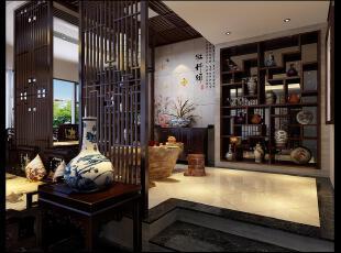 ,古典中式,130平,40万,别墅,独立别墅,中式,会客厅,