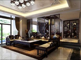 ,130平,40万,别墅,独立别墅,中式,客厅,