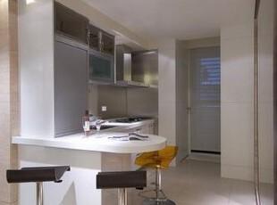厨房后方为后阳台,动线顺畅做起家事更加顺手。,厨房,现代,简约,风格,