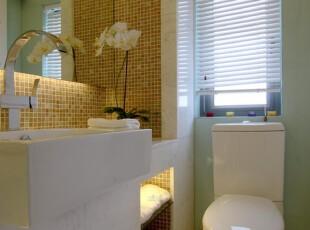 ,卫生间,现代,简约,绿色,白色,
