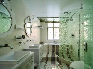 ,卫生间,绿色,