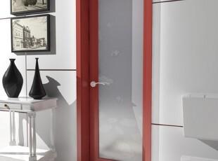 ,卫生间,白色,红色,
