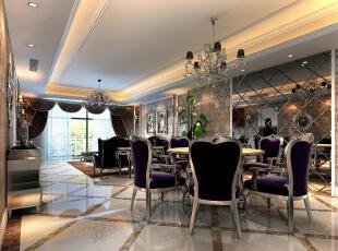 新古典欧式餐厅