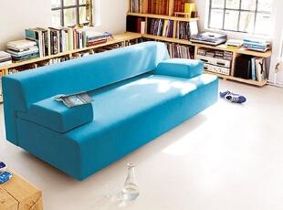 蓝色沙发,大爱,感觉置身海洋