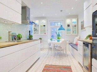 开发式厨房,增加空间感
