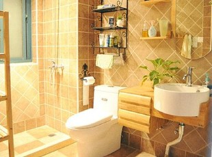 卫生间,相对留了比较多空间