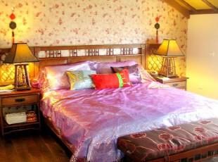 中式阁楼卧室