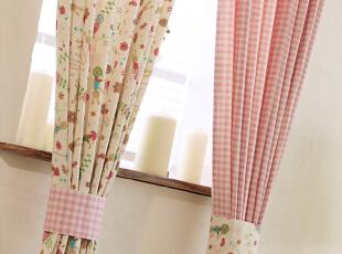 日式田园窗帘