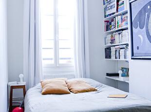 淡紫色卧室