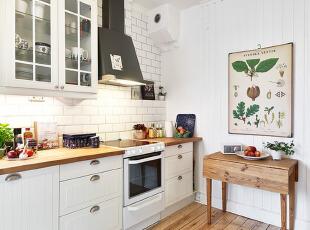 田园风格的厨房