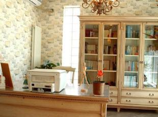 一款美式乡村设计-书房