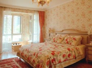 一款美式乡村设计-卧室