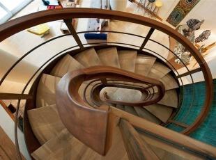 Tribeca复式公寓室内设计-楼梯