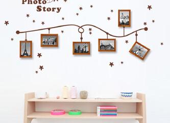 DIY相片墙 印刻时光的足迹
