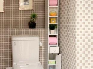 卫生间收纳柜的巧用