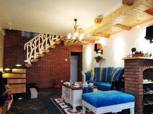 浪漫地中海 蔚蓝复式婚房
