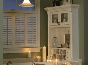 田园风格浴室