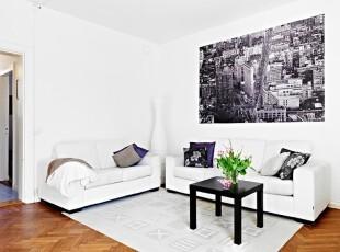 明亮清新复式公寓