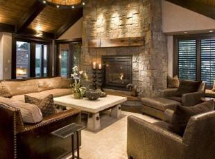 稳重型客厅设计