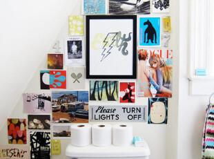 小清新的相片墙,挂在...