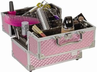 女人爱美有方法 巧用空间收纳百款化妆品