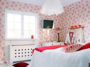 红白两色打造可爱糖果公寓