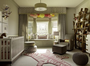 卧室飘窗装修图 最新卧室飘窗设计图片