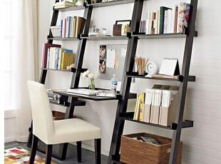 ,书架,白色,书房,现代,