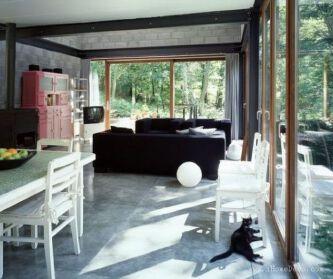 现代小屋:与自然融为一体...