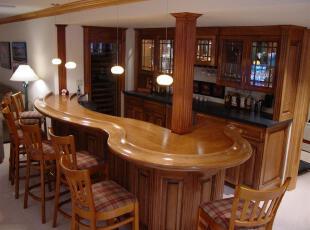 欧式古典吧台