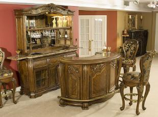 欧式新古典风格吧台