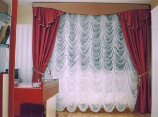 法式窗帘,让浪漫满屋